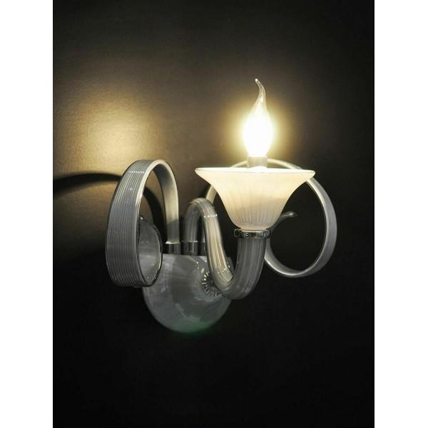 Applique lampada da parete muro salone camera ufficio casa - Illuminazione da interni casa ...