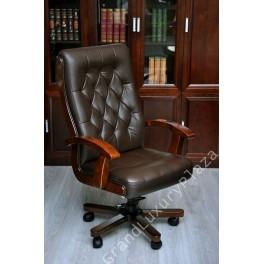 Poltrona Ufficio Pelle Marrone.Poltrona Sedia Presidenziale Direzionale Pelle Ufficio Studio