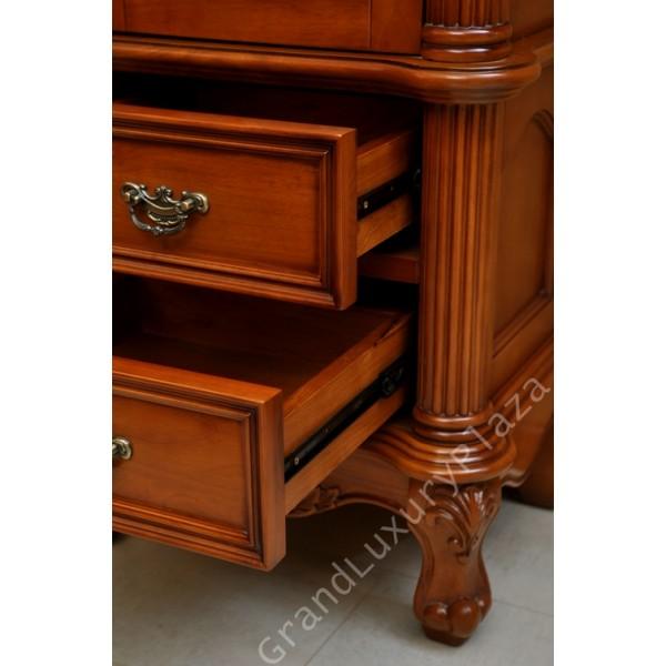 Mobili bagno classici legno affordable design mobili - Top bagno legno massello ...