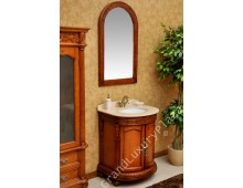 Bagno in legno massiccio  con specchio  VENEZIA  F5054