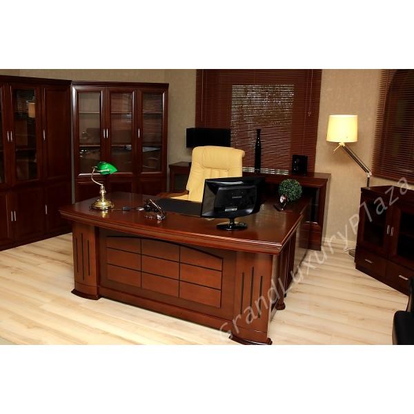 Scrivania tavolo ufficio studio presidenziale direzionale for Tavolini per ufficio