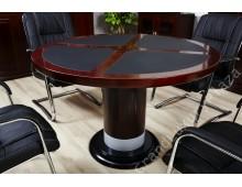 """Tavolo ufficio tondo da conferenza serie """"Colombo 100"""" G 01"""
