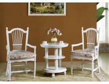 """Tavolino bianco con sedie """"Princess""""823"""