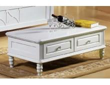 """Tavolino bianco da salone serie """"Princess""""820"""