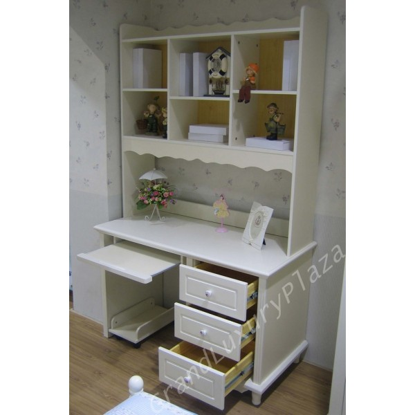 Scrivania in bianco con libreria sovrapposta PRINCESS 815 - Grand ...
