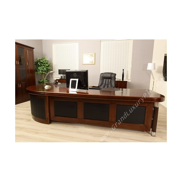 Scrivania tavolo ufficio studio presidenziale direzionale for Mobili per ufficio scrivanie