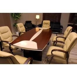Tavolo da Sala Riunione Conferenza SELECTA D08 2.4M Crema