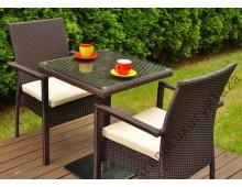 Tavolo s 60 con 2 sedie
