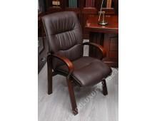 Confortevole sedia conferenza Eko line marrone