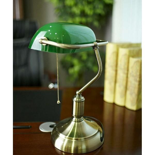 Lampada da tavolo scrivania notturna ufficio studio casa illuminazione interni snodabile for Lampada da tavolo verde