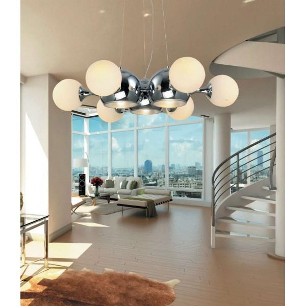 Lampadario plafoniere sospensione lampada lampadari for Illuminazione interni casa