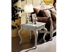 "Tavolino elegante bianco serie ""BELLA"" 938"