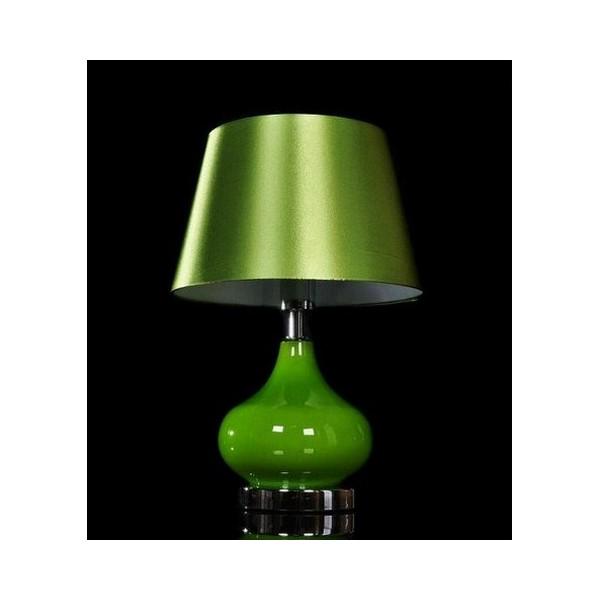Lampada da tavolo scrivania notturna ufficio studio casa - Lampada da tavolo verde ...