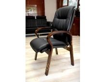 Confortevole sedia conferenza Eko line nera