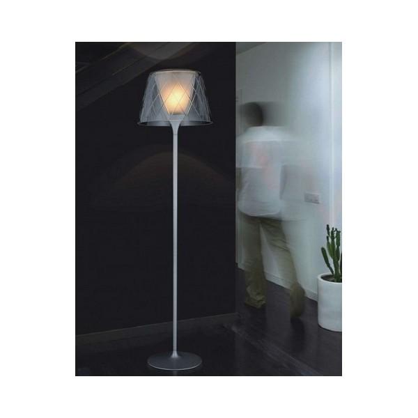 Piantana lampada da terra a stelo arco pavimento for Lampada da terra per camera da letto