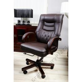 Poltrona Girevole X Ufficio.Poltrona Sedia Presidenziale Direzionale Pelle Ufficio Studio